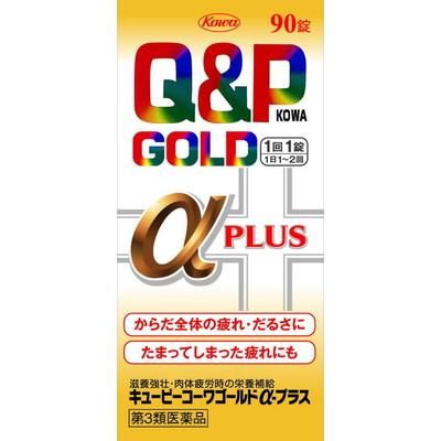 Q&P 코와 골드 α+ 90정