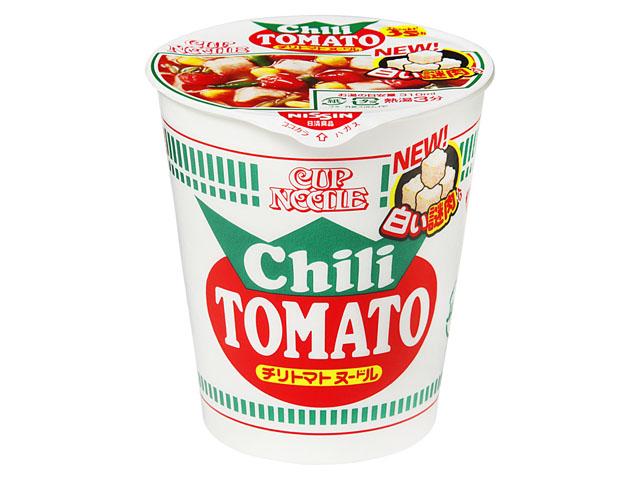 닛신 컵누들 칠리 토마토