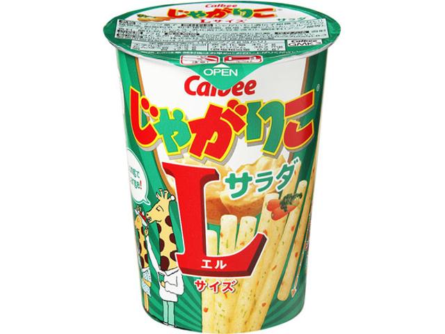 카루비 쟈가리코 L사이즈 샐러드맛