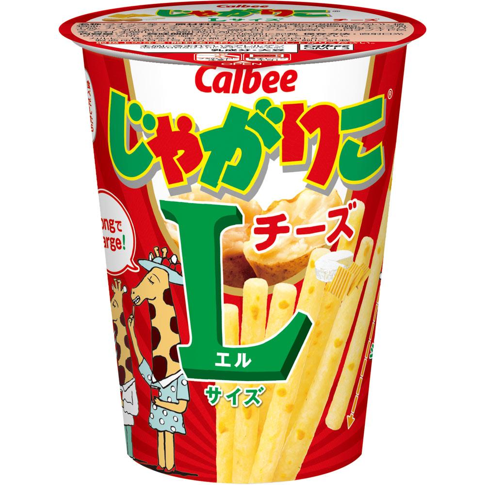 카루비 쟈가리코 L사이즈 치즈맛