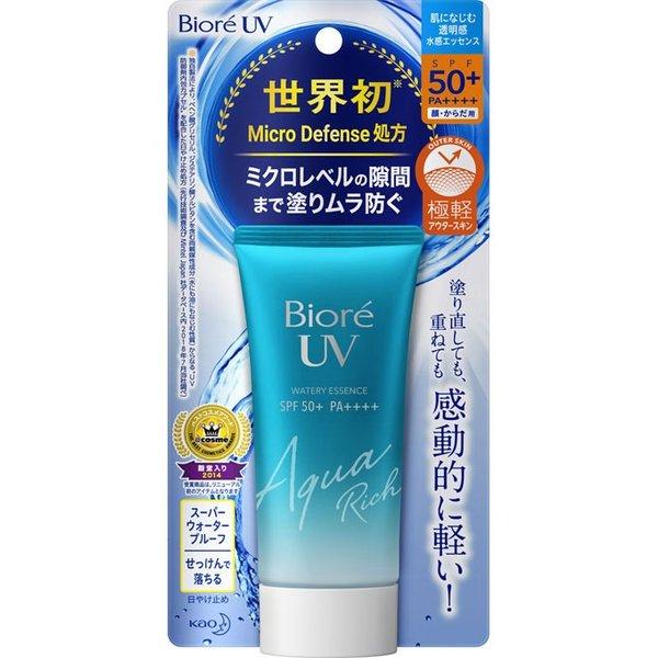 비오레 UV 아쿠아리치 에센스 선크림 50ml