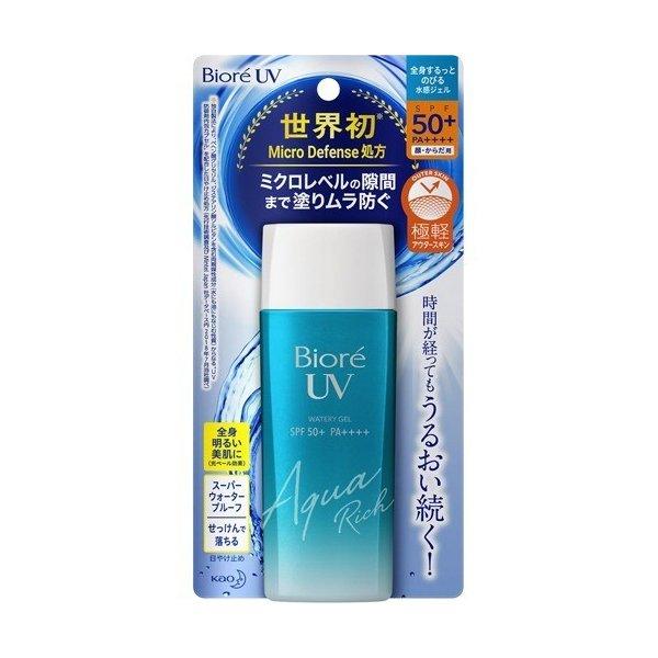 비오레 UV 아쿠아리치 젤 선크림 90ml