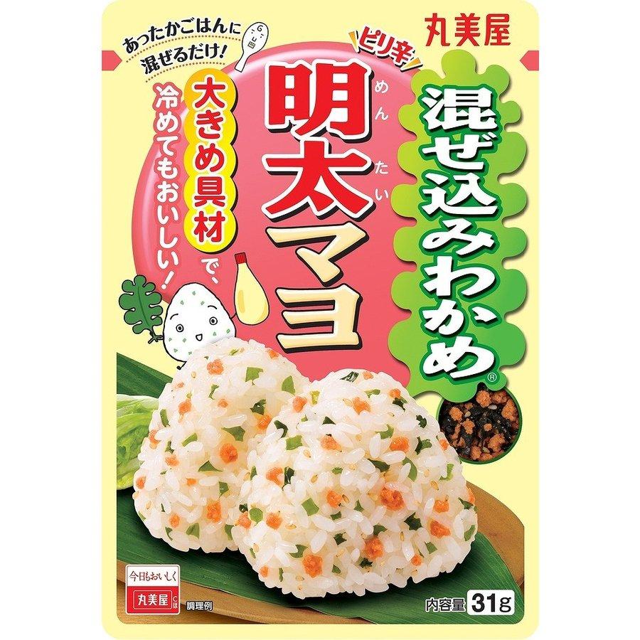 마루미야 주먹밥 후리카케 명란젓 마요네즈맛 31g