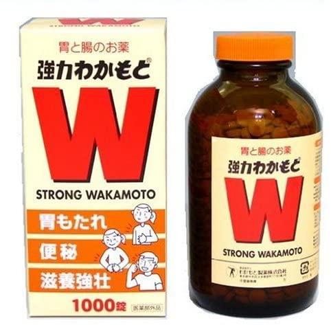 스트롱 와카모토 포인트는 효모 (1000정)